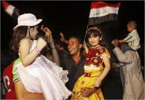 Iraqis Celebration